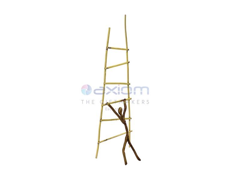 Αναμνηστικό σκάλα και άνθρωπος