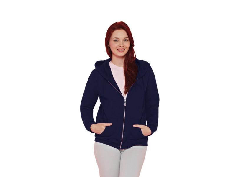 Ladies sweater hood zip 18600l